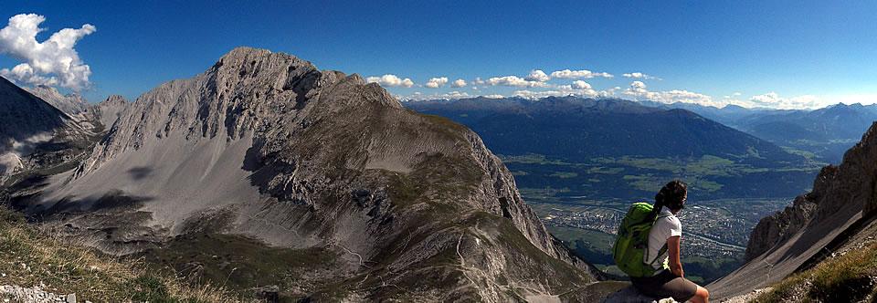Wandern in der Alpenwelt