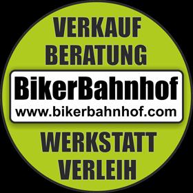 Bikerbahnhof Logo
