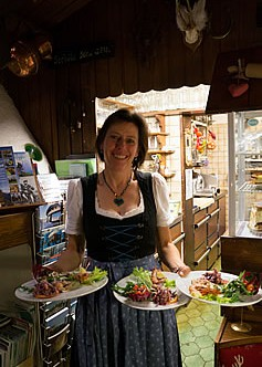 Das Café mitten in der Alpenwelt