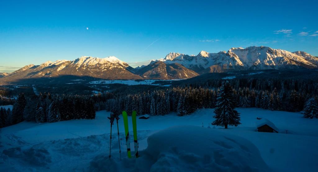 Winter in der Alpenwelt Karwendel Skitour