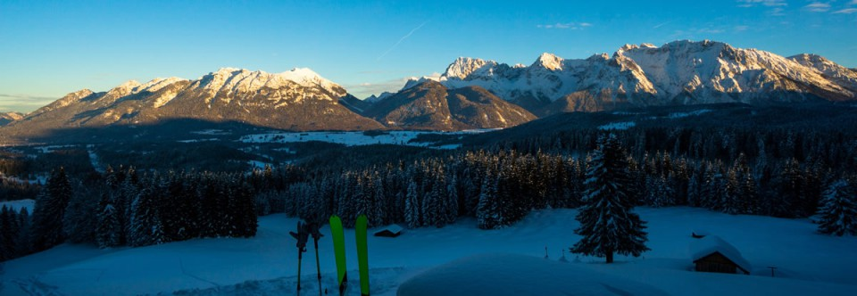 Winter in der Alpenwelt