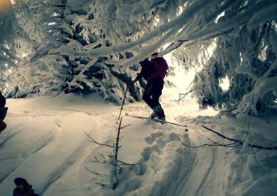 Sport im Winter: Skitour