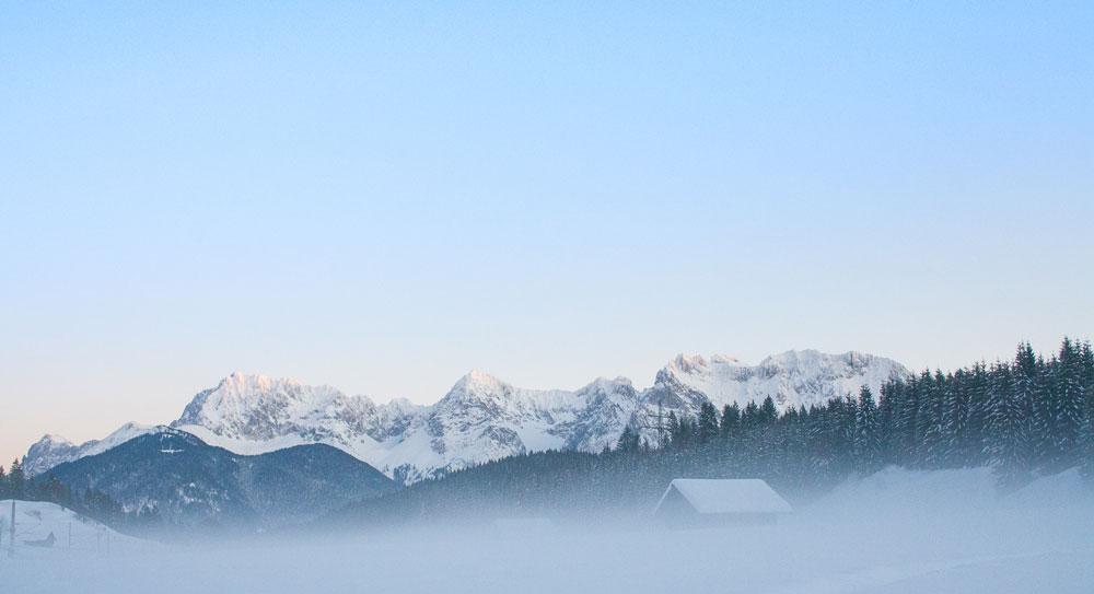 Winter und das kommende Frühjahr in den Bergen 2021